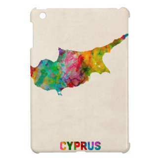 Cyprus Watercolor Map Cover For The iPad Mini