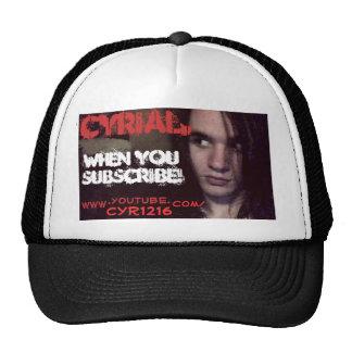 Cyr CYRial. gorra