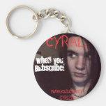 Cyr CYRial Keychain