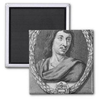 Cyrano de Bergerac 2 Inch Square Magnet