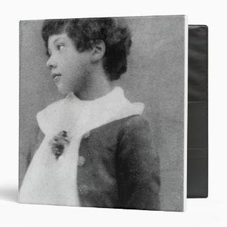 Cyril Wilde, c.1890 Binder