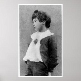 Cyril Wilde, c.1890 Póster