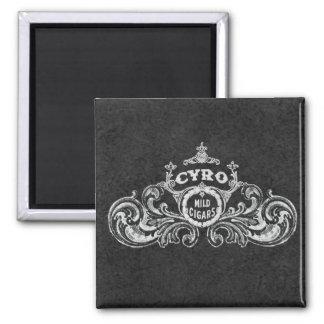Cyro Mild Cigars Vintage Label Magnet