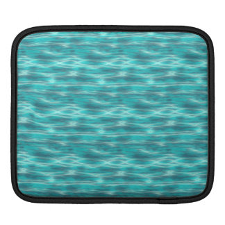 Cyrstal Blue Beach Water iPad Sleeve