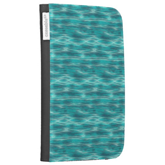 Cyrstal Blue Beach Water Kindle Cover