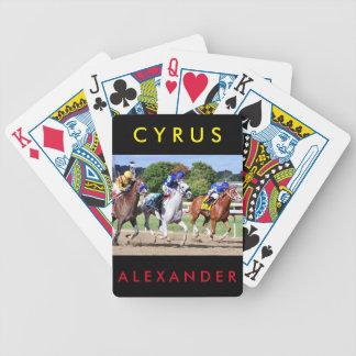 Cyrus Alexander, Mr.Jordan & Res Judicata Bicycle Playing Cards