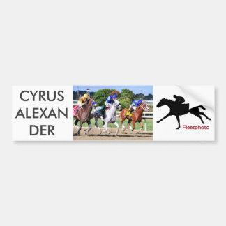 Cyrus Alexander, Mr.Jordan & Res Judicata Bumper Sticker
