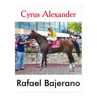 Cyrus Alexander-R.Bejarano Postcard