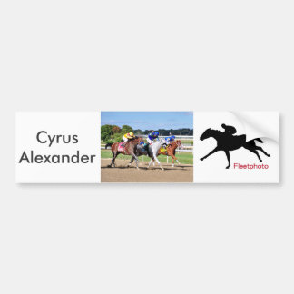 Cyrus Alexander-Rafael Bejarano Bumper Sticker