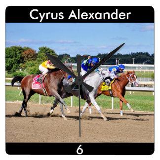 Cyrus Alexander-Rafael Bejarano Square Wall Clock