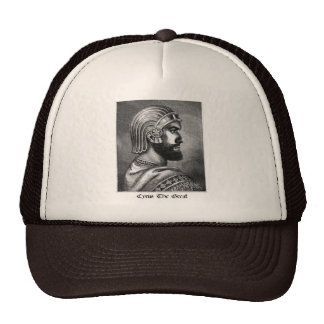 Cyrus la gran mente gorras