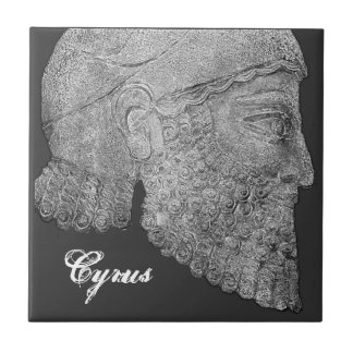 Cyrus The Great Ceramic Tile