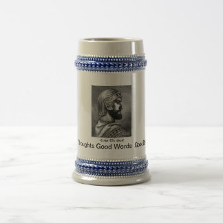 Cyrus the great Mind 18 Oz Beer Stein