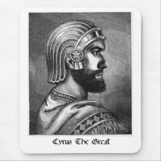 Cyrus the great Mind Mouse Pad