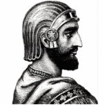 Cyrus The Great Standing Photo Sculpture
