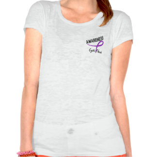 Cystic Fibrosis Awareness 3 Tee Shirt