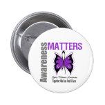 Cystic Fibrosis Awareness Matters Pins