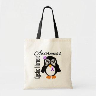 Cystic Fibrosis Awareness Penguin Bags