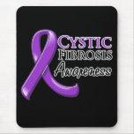 Cystic Fibrosis Awareness Ribbon Mousepads