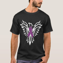 Cystic Fibrosis Awareness Ribbon Shirt Phoenix Pro
