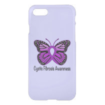 Cystic Fibrosis Awareness with Butterfly iPhone 8/7 Case