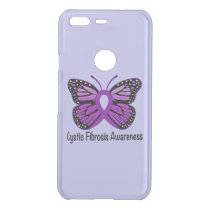 Cystic Fibrosis Awareness with Butterfly Uncommon Google Pixel Case