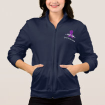 Cystic Fibrosis Awareness with Swans of Hope Jacket