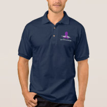 Cystic Fibrosis Awareness with Swans of Hope Polo Shirt