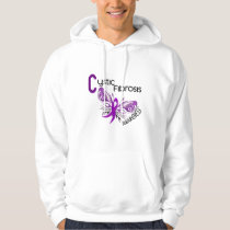 Cystic Fibrosis BUTTERFLY 3 Hoodie