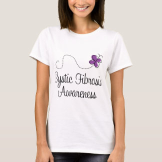 Cystic Fibrosis Butterfly Awareness T-Shirt