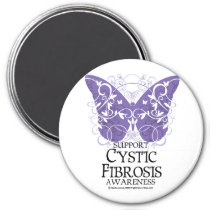 Cystic Fibrosis Butterfly Magnet