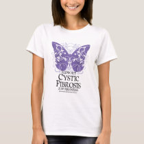 Cystic Fibrosis Butterfly T-Shirt