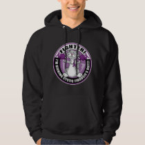 Cystic Fibrosis Cat Fighter Hoodie
