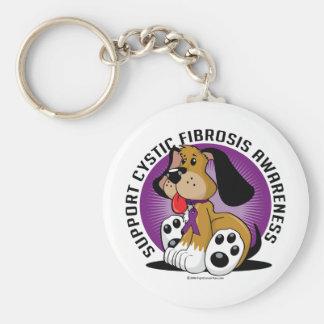Cystic Fibrosis Dog Keychain