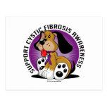 Cystic Fibrosis Dog Postcard