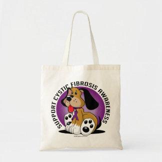 Cystic Fibrosis Dog Tote Bag
