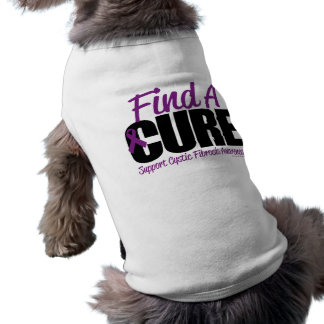 Cystic Fibrosis Find A Cure 2 Dog Tee Shirt