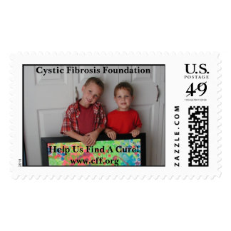 Cystic Fibrosis Fundraising Stamp