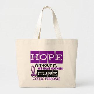 Cystic Fibrosis HOPE 2 Large Tote Bag