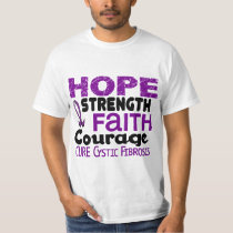 Cystic Fibrosis HOPE 3 T-Shirt