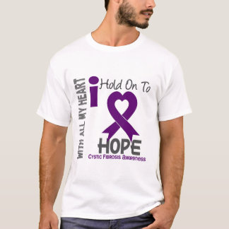 Cystic Fibrosis I Hold On To Hope T-Shirt