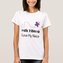 Cystic Fibrosis I Love My Niece T-Shirt