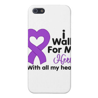 Cystic Fibrosis I Walk For My Hero iPhone 5 Case