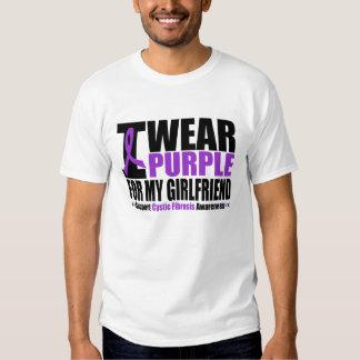 Cystic Fibrosis I Wear Purple For My Girlfriend T-Shirt