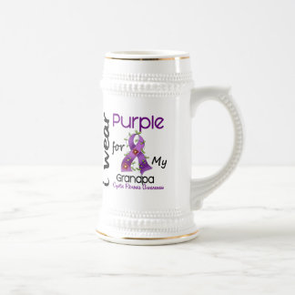Cystic Fibrosis I Wear Purple For My Grandpa 43 Mugs