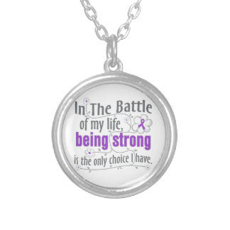 Cystic Fibrosis In the Battle Custom Necklace