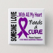Cystic Fibrosis Needs A Cure 3 Button