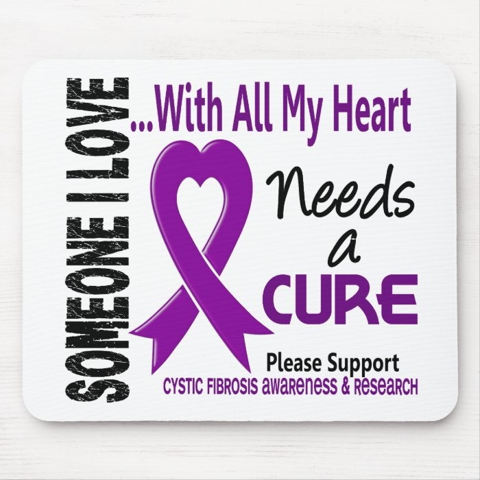Cystic Fibrosis Needs A Cure 3 Mouse Pad