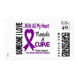 Cystic Fibrosis Needs A Cure 3 Stamp