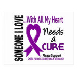 Cystic Fibrosis Needs A Cure 3 Postcard